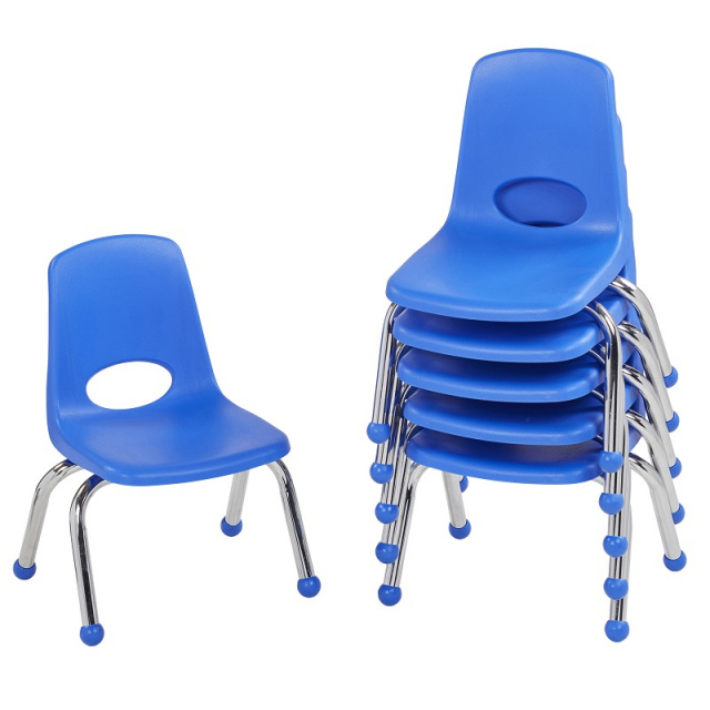 Astounding Fp 10355 10In Stack Chair Ball Glide 6 Pack Interior Design Ideas Gentotryabchikinfo