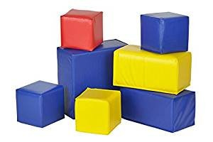 Soft Big Foam Blocks Play Set 7 Pack