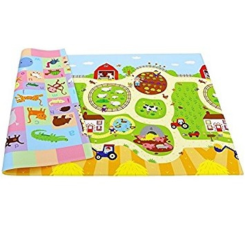 Baby Care Play Mat Busy Farm Large