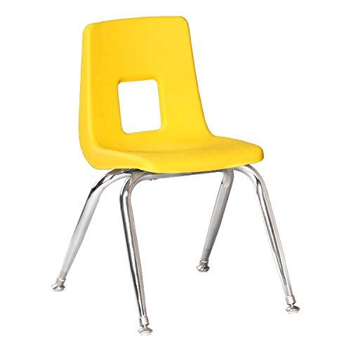 Astonishing Sprogs Preschool Chair With Chrome Legs 13 1 2 4 Pack Lamtechconsult Wood Chair Design Ideas Lamtechconsultcom