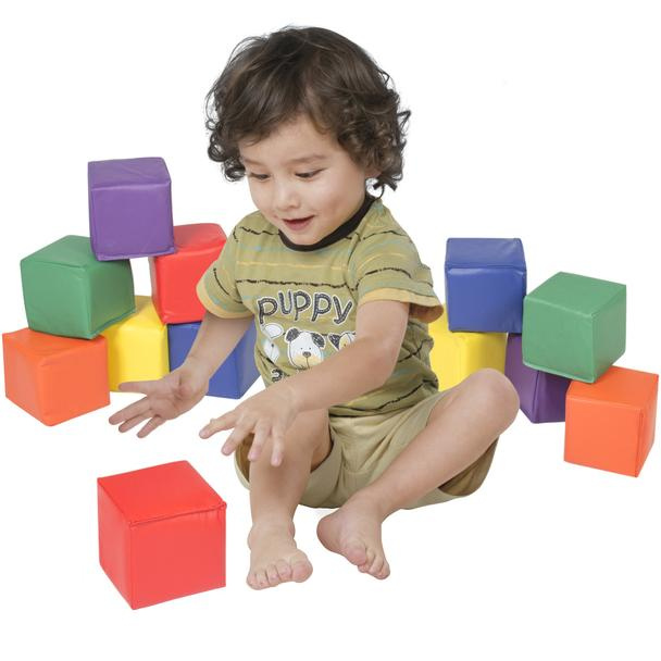 Bc Soft Play Foam Blocks 12 Pack