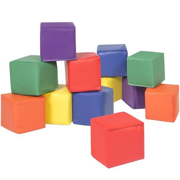 Bc Soft Play Foam Blocks 12 Pack
