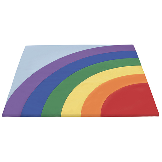 Elr 12923 Softzone Rainbow Activity Mat