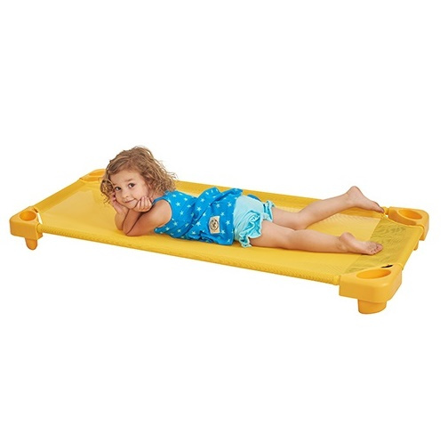 yellow nap cot
