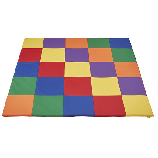 Elr 031 Patchwork Toddler Mat Primary