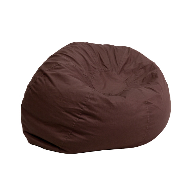 Strange Ff Bean Bag Chair Oversize Brown Bralicious Painted Fabric Chair Ideas Braliciousco