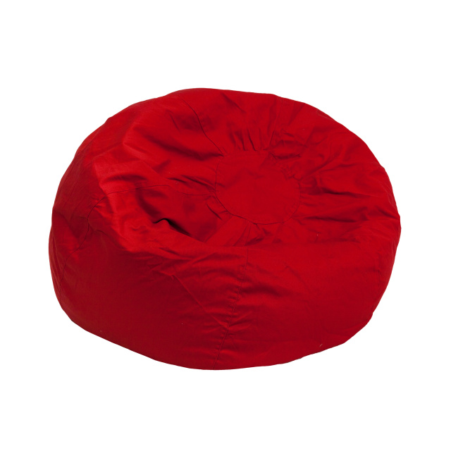 SMALL red KIDS BEAN BAG CHAIR