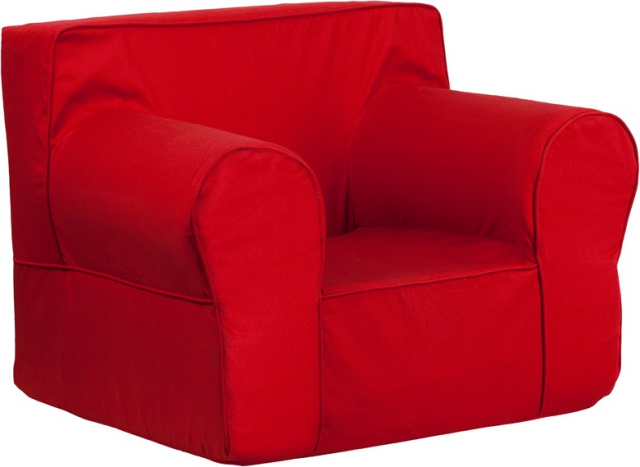 FF Kids Chair Oversized   Red