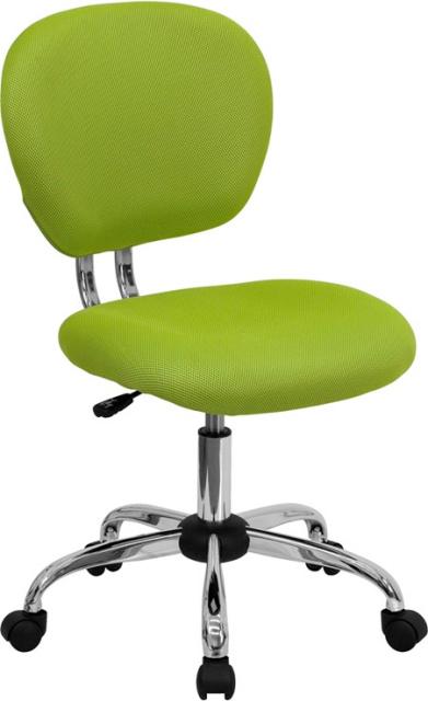 FF Swivel Task Chair Mid Back   Apple Green