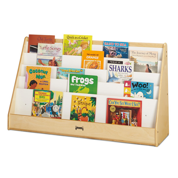 Preschool Book Displays Child Care Book Shelves Daycare Book Stand - Can-pick-the-book-quick