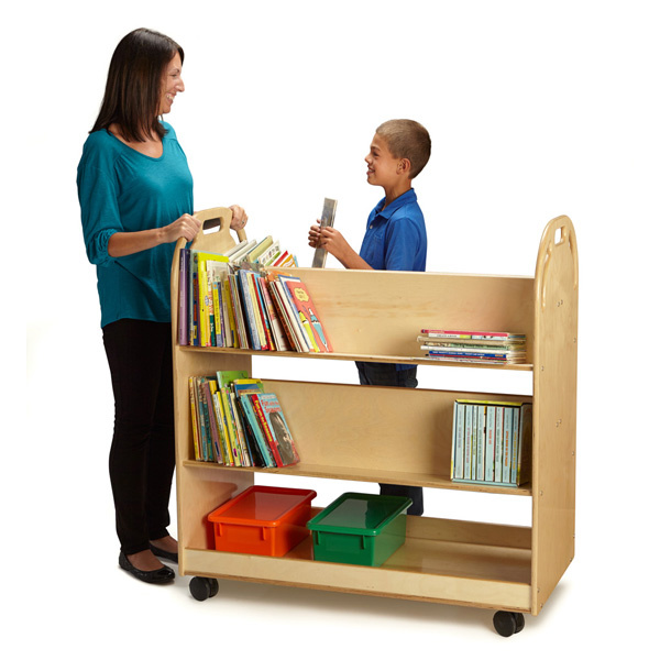 Blue Book Value Truck >> Preschool Book Displays, Child Care Book Shelves, Daycare ...