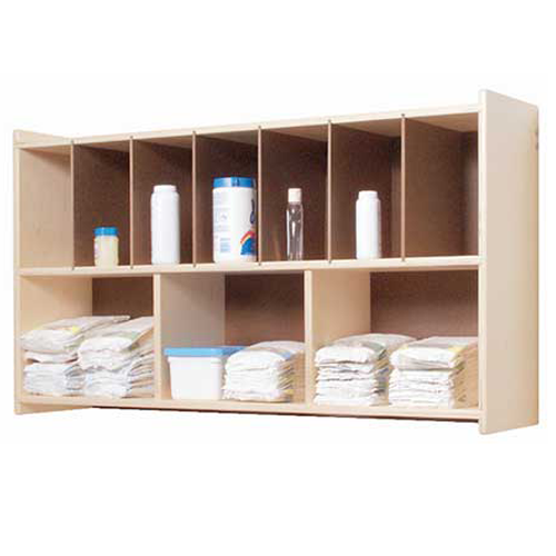 SWP1106 Birch Diaper Wall Shelf