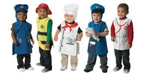 Cf100 351 Community Helper Costumes 5 Pack