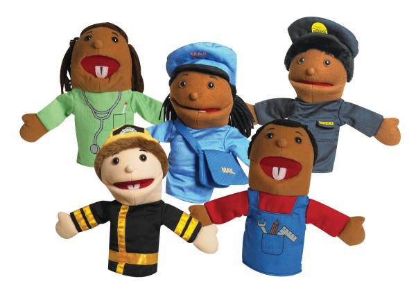 Cf100 897 10 Quot Career Puppets 5 Pack