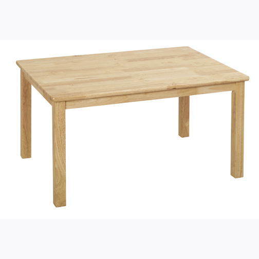 Wood Tables And Wooden Chair At Daycare Furniture Direct