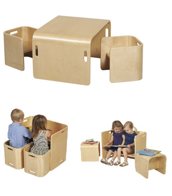 Multipurpose Table wood tables and wooden chair at daycare furniture direct. wooden