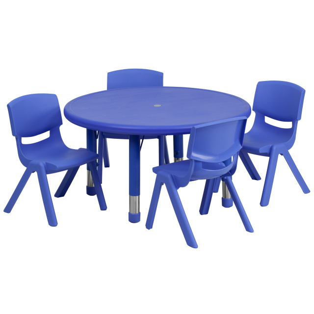Ff Round 33 Activity Table 4 Chair 10 5 Blue
