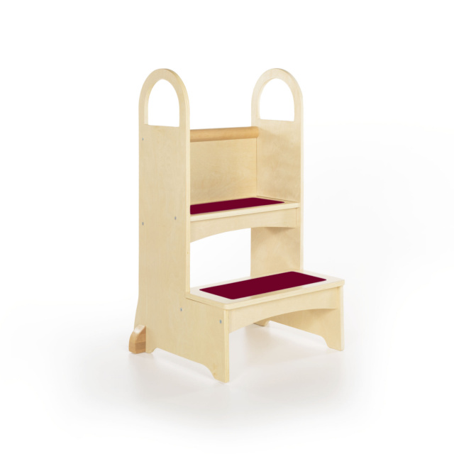 Preschool Stairs Wood Step Stools Guidecraft Kitchen Helper Kids Step Stool Classroom Stools Bathroom Steps  sc 1 st  Daycare Furniture Direct & Preschool Stairs Wood Step Stools Guidecraft Kitchen Helper ... islam-shia.org