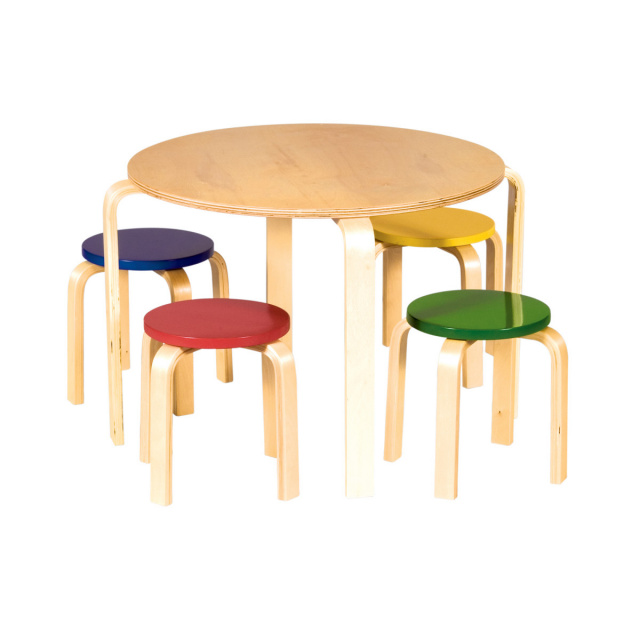 Wood Tables and wooden chair at Daycare Furniture Direct. Wooden ...