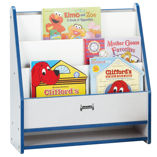 Preschool Book Displays Child Care Shelves Daycare Stand Classroom Storage Cases Early Childhood Literacy Furniture