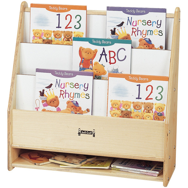 Preschool Book Displays Child Care Book Shelves Daycare Book Stand Classroom Storage Cases Early Childhood Literacy Furniture  sc 1 st  Daycare Furniture Direct : child book storage  - Aquiesqueretaro.Com