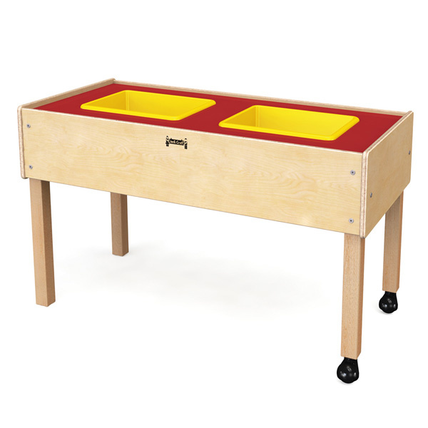 0486jc Toddler 2 Tub Sensory Table