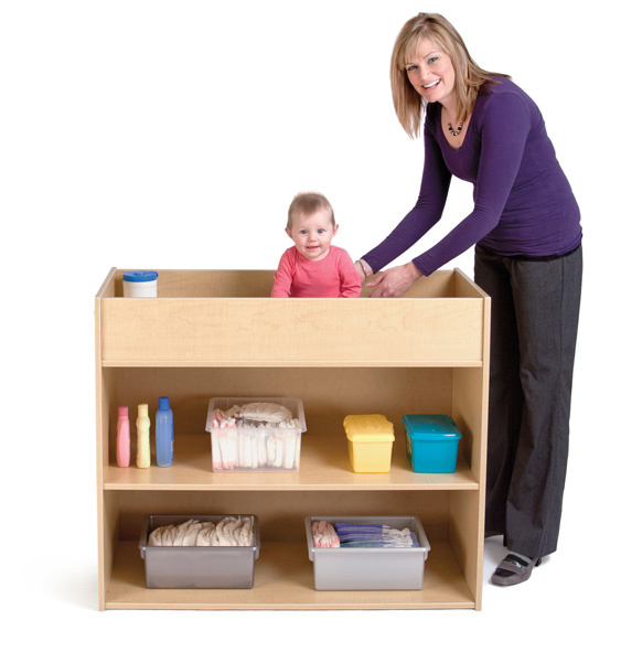Diaper Changing Stations And Commercial Changing Tables For Daycare And  Store Use At Daycare Furniture Direct.