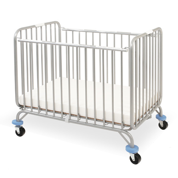 CS 884 LA Baby Chromacoat Deluxe Holiday Compact Folding Metal Crib