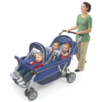 arafb6700 byebye stroller 6passenger
