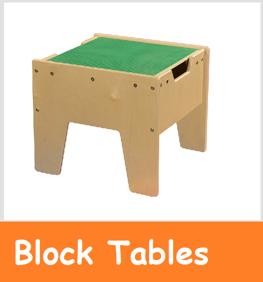 Lego block tables