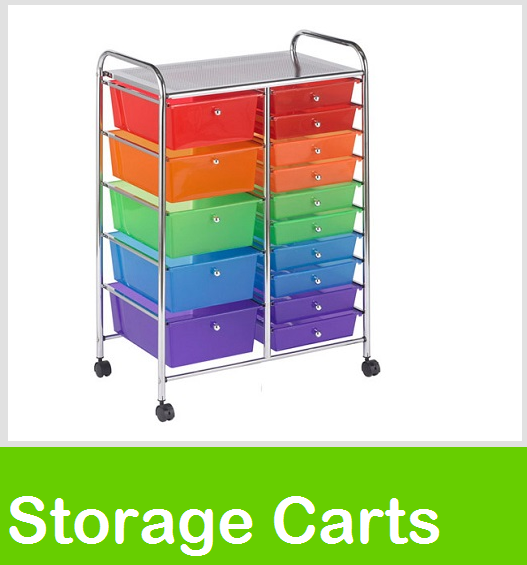 Drawer Storage Carts ,Teacher Storage Organizer, Utility Cart, Rolling Storage Carts, Rolling File Cart