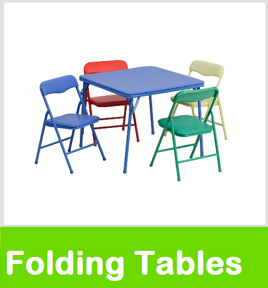 kids folding tables and chairs