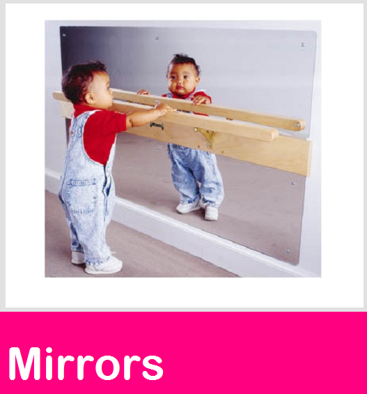 Infant Coordination mirrors, wall mirrors, Wall Murals & Mirror art
