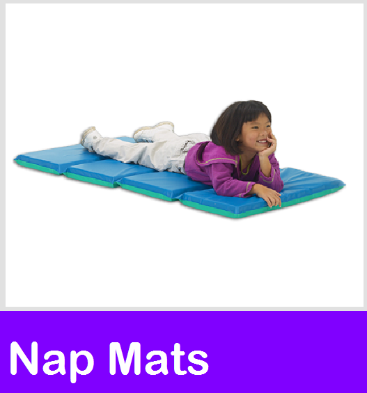 "Nap Mats, Rest Mats, Peerless Plastics Mat, Rainbow Designer Mats, Mahar Sleeping Mat, 2"" nap mats, childcare Nap time, Daycare Rest Mats, mat sheet, mat blanket, mat dolly"