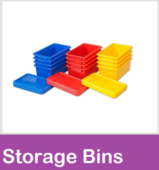 plastic storage bins trays tubs
