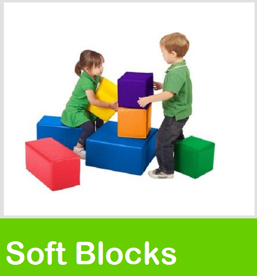 Soft Play Blocks, soft zone blocks