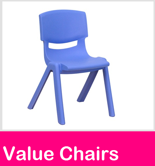 Value chairs, preschool chairs, childcare seating, plastic chairs