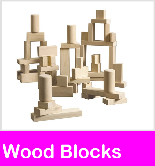 Wood Blocks, Manipulatives Block Sets, Wood Block Storage