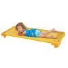 ELR-16125-YE Standard Single Nap Cot Assembled  - Yellow
