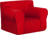 FF Kids Chair Oversized - Red
