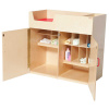 WD21050 Deluxe Infant Care Center Diaper Changing Table - Natural