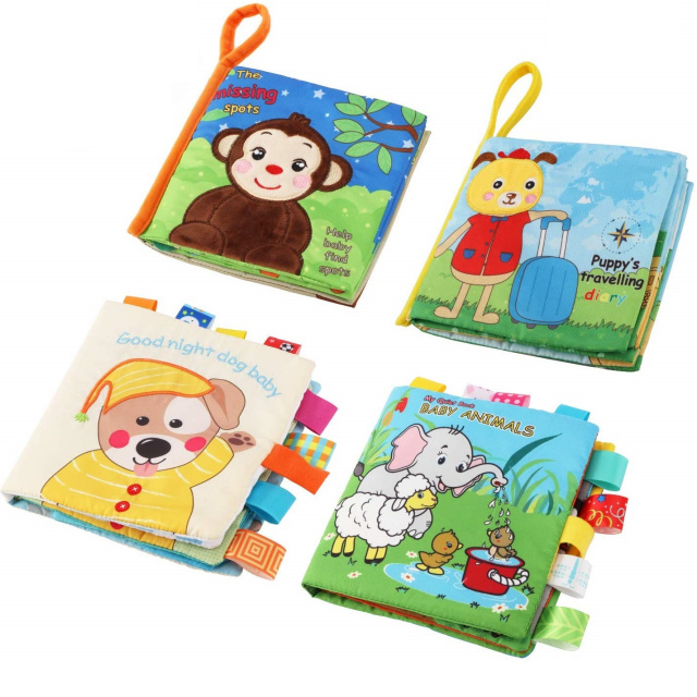Baby First Book - 4 Pack