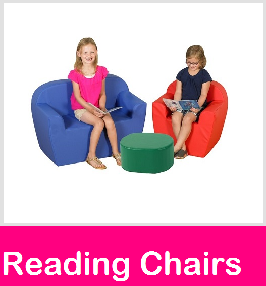 reading chairs, kids soft chair, classroom seating, literacy chairs