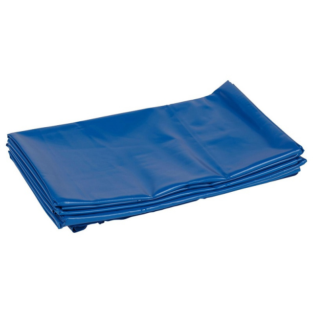 BS Hanging Rest Mat Sanitary Blue Divider 6-Pack