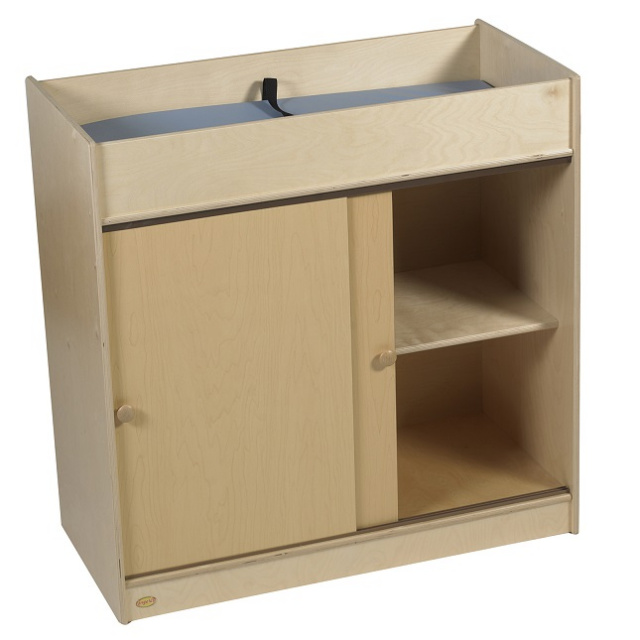 ANG1039P Changing Table with Doors