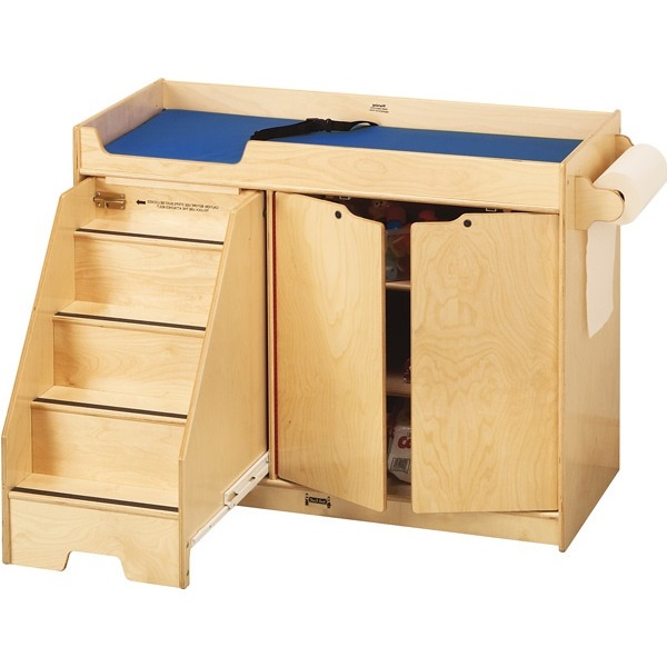 5131JC Jonti-Craft Changing Table with Stairs Left