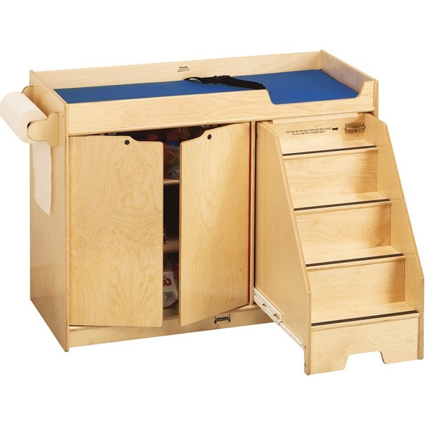 5137JC Jonti-Craft Changing Table with Stairs Right