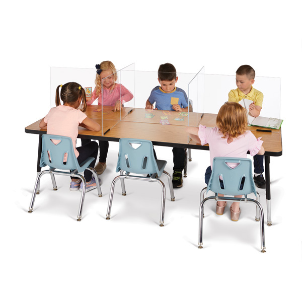9832JC_See_Thru_Table_Divider_Shields_6_Station_70.5 x 29.5