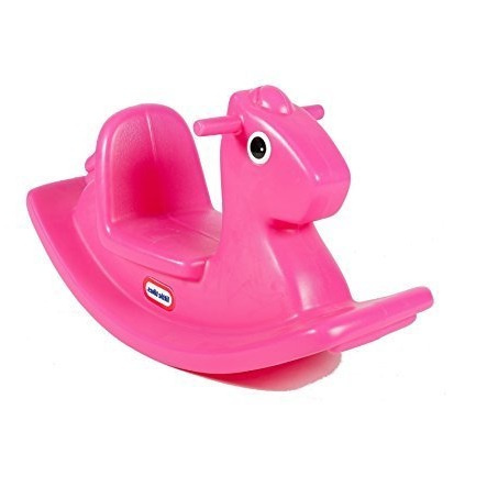 619854 Little Tikes Rocking Horse Pink