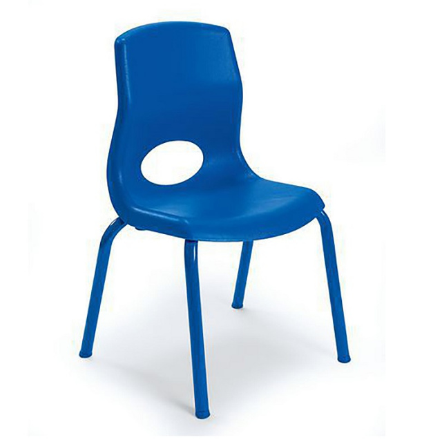 "AB8012 MyPosture Stacking Chairs 12"" - 4 Pack"